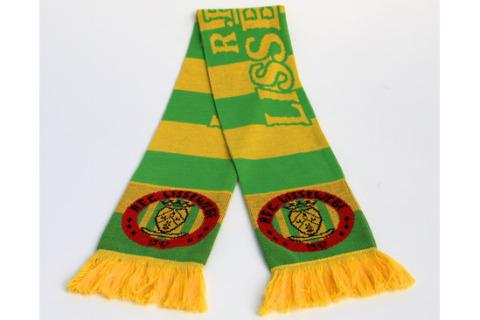 Jacquard football scarf Lissewege