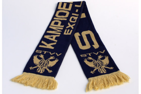 Jacquard football scarf STVV champion