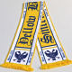 Printed polyester football scarf stvv
