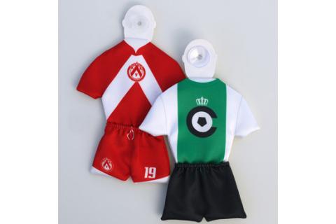 Custom car mini football kit 2 part