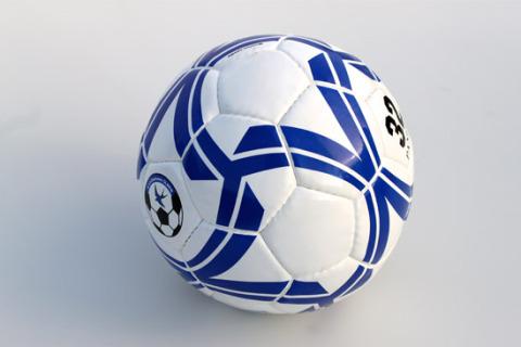 Custom football size 5 bw