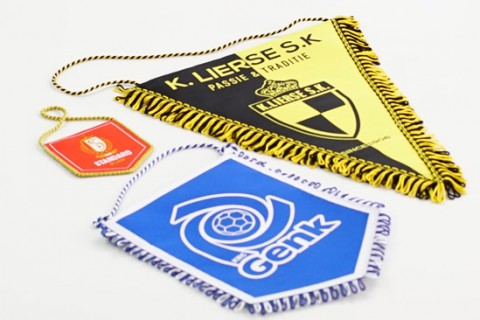 Custom pennants in 3 sizes
