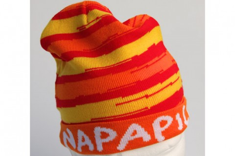 Custom beanie hat with border
