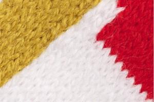 Deluxe HD scarf weaves detail
