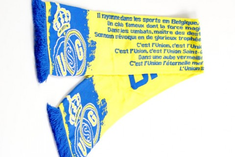 Deluxe HD scarf text detail