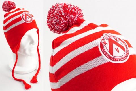 Custom Peruvian beanie hat red
