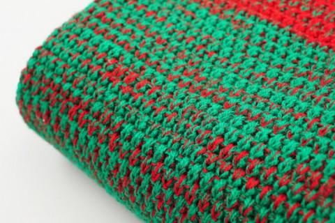Custom fashion scarf fabric detail