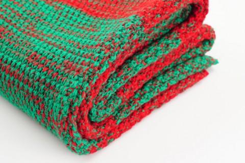 Custom fashion scarf folded