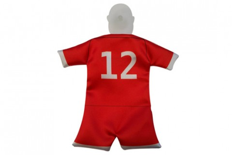 Custom 1 part mini football kit back