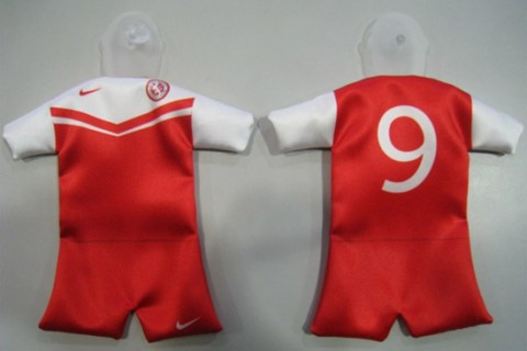 Custom mini football kit 1 part front & back