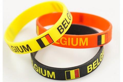 Custom silicon wristbands multi colour